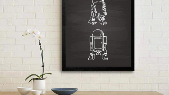 R2D2 スケッチアート